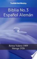 Libro de Biblia No.3 Español Alemán