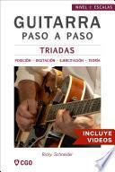 Libro de Tríadas   Guitarra Paso A Paso