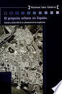 Libro de El Proyecto Urbano En España