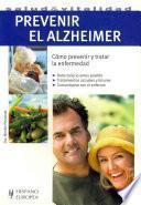 Libro de Prevenir El Alzheimer