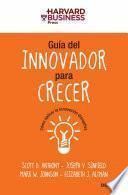 Libro de Guía Del Innovador Para Crecer