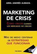 Libro de Marketing De Crisis