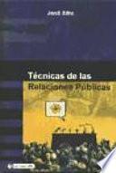 Libro de Técnicas De Las Relaciones Públicas