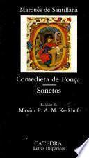 Libro de Comedieta De Ponça ; Sonetos  Al Itálico Modo