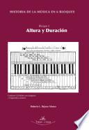 Libro de Historia De La Música En 6 Bloques. Bloque 5. Altura Y Duración