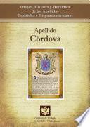 Libro de Apellido Córdoba
