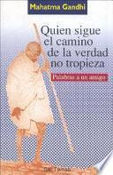 Libro de Quien Sigue El Camino De La Verdad No Tropieza