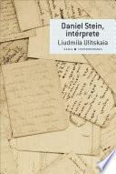 Libro de Daniel Stein, Intérprete