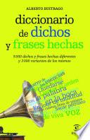 Libro de Diccionario De Dichos Y Frases Hechas