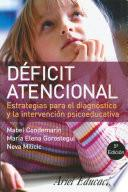 Libro de Déficit Atencional
