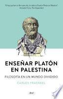 Libro de Enseñar Platón En Palestina