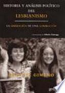 Libro de Historia Y Análisis Político Del Lesbianismo