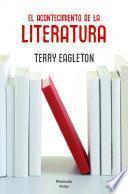 Libro de El Acontecimiento De La Literatura