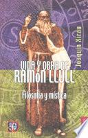 Libro de Vida Y Obra De Ramón Llull