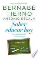 Libro de Saber Educar Hoy