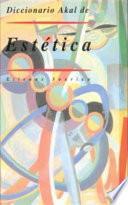 Libro de Diccionario Akal De Estética
