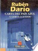 Libro de Carta Del País Azul Y Otros Cuentos