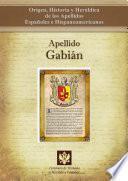 Libro de Apellido Gabián