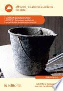 Libro de Labores Auxiliares De Obra. Eocb0109
