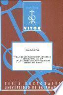 Libro de Tipaje De Los Marcadores Genéticos Abo, Rh, Mnss, Ge Y Acp En La Comarca Salmantina De Los Arribes Del Duero