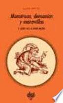 Libro de Monstruos, Demonios Y Maravillas A Fines De La Edad Media