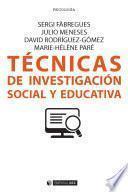 Libro de Técnicas De Investigación Social Y Educativa