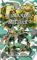 Libro de Don De Mando Militar
