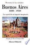 Libro de Buenos Aires, 1880 1930