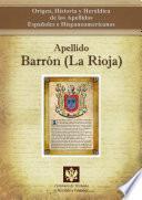 Libro de Apellido Barrón (la Rioja)
