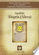 Libro de Apellido Alegría (Álava)
