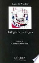 Libro de Diálogo De La Lengua