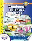 Libro de Camiones, Aviones Y Trenes