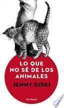 Libro de Lo Que No Sé De Los Animales