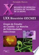 Libro de X Reunión De Medicina Interna De Talavera De La Reina. Lxx Reunión Gecmei.