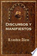 Libro de Discursos Y Manifiestos