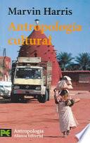 Libro de Antropología Cultural