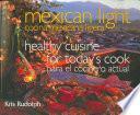 Libro de Cocina Mexicana Ligera