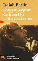 Libro de Dos Conceptos De Libertad