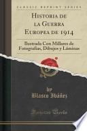 Libro de Historia De La Guerra Europea De 1914