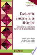 Libro de Evaluación E Intervención Didáctica