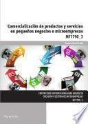 Libro de Mf1790_3   Comercialización De Productos Y Servicios En Pequeños Negocios O Microempresas