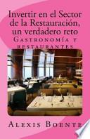 Libro de Invertir En El Sector De La Restauración
