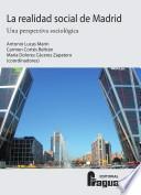 Libro de La Realidad Social De Madrid
