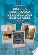 Libro de Historia Cronológica De La Ciudad De Buenos Aires 1536 2014