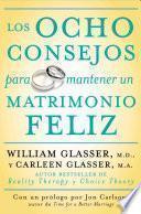 Libro de Los Ocho Consejos Para Mantener Un Matrimonio Feliz