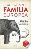 Libro de Mi Gran Familia Europea