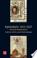 Libro de Epistolario 1512 1527
