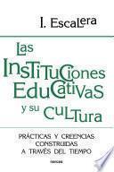 Libro de Las Instituciones Educativas