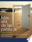 Libro de Más Allá De Las Palabras: Intermediate Spanish, Third Edition