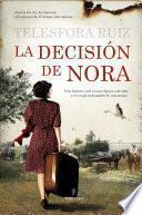 Libro de La Decisión De Nora